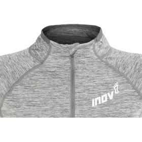 inov-8 Train Elite Mid Camiseta manga larga running Mujer, light grey